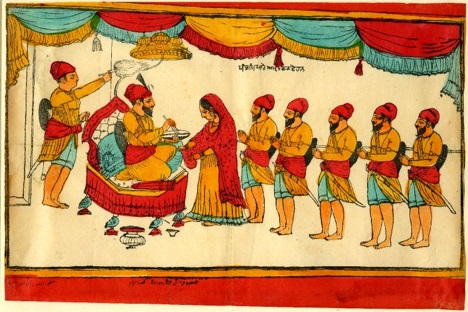 Guru Gobind Singh creates the Khalsa